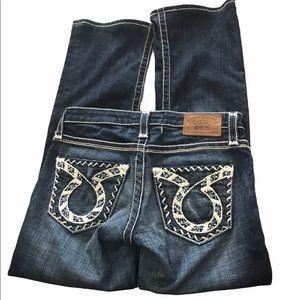 Big Star Liv Boot Stretch Jeans 26R